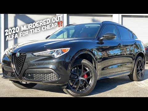 This Murdered Out 2020 Alfa Romeo Stelvio ONLY Costs HOW Much?!