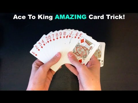 Ace To King (5k Subscribers Video) Card Trick Revealed!