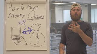 How to make money online - free webinar and course register now!