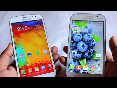 Samsung Galaxy Grand 1 vs Galaxy Grand 2