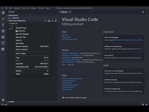Basic Steps on Creating Workspace in VIsual Studio Code