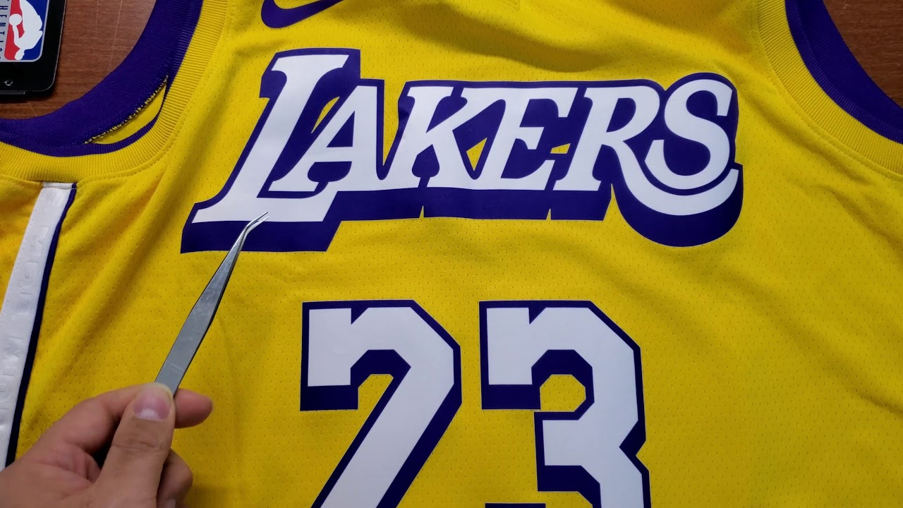 Nike Los Angeles Lakers Lore Series Shaq Edition Lebron James Jersey Youtube