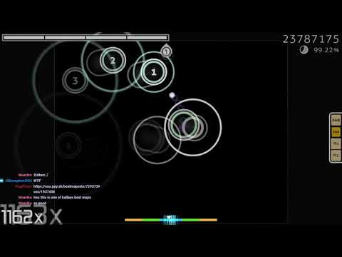 [osu!] sasakure UK - Sennen to Rasen, Chiru Mono o feat  Sui [Descent] S  (Axarious)