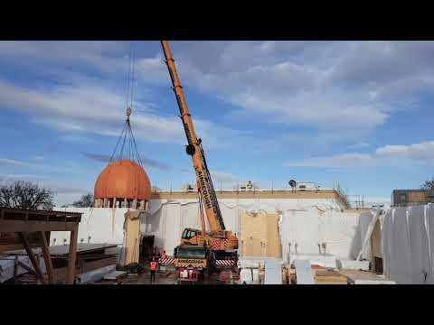 A Sacred Space: Cambridge Mosque Construction Reaches Halfway Point