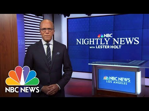 Download Nightly News Full Broadcast - October 20th