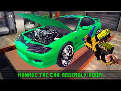 Car Making Factory Simulator - Manufacturing Game Gameplay Video Android/iOS