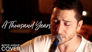Repeat youtube video A Thousand Years - Christina Perri (Boyce Avenue acoustic cover) on Apple & Spotify