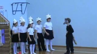 Мюзикл Волк и семеро козлят на новый лад. 50 Школа