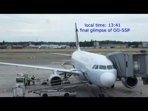 Brussels Airlines/Paris CDG-Brussels/b.economy/A319-100/JUL2015