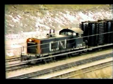 cn rail sw8 circa 1978 oshawa cn yard