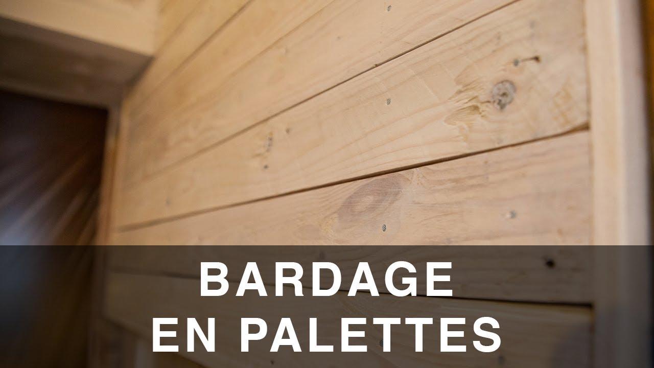 Recouvrir Du Lambris Bois pallet wall cladding