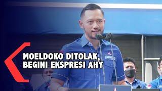 [FULL] KLB Moeldoko Ditolak Begini Ekspresi Senyum AHY, Terima Kasih Pak Jokowi