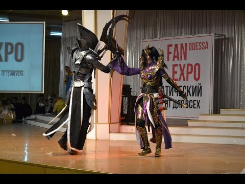 FAN EXPO Odessa 2017  Diablo 3 (дуэт DiViWhy)