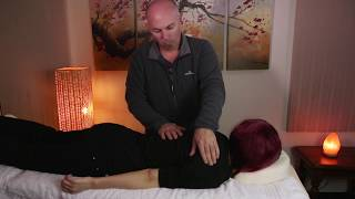 ASMR Massage with Back Scratching - No Talking