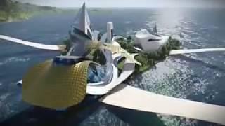 Eco ile flottante pour un tourisme de luxe a bejaia