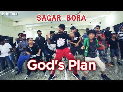 "#InternationalDanceDay - SAGAR BORA ""God's Plan"" Showcase at Pune Dance Fest"