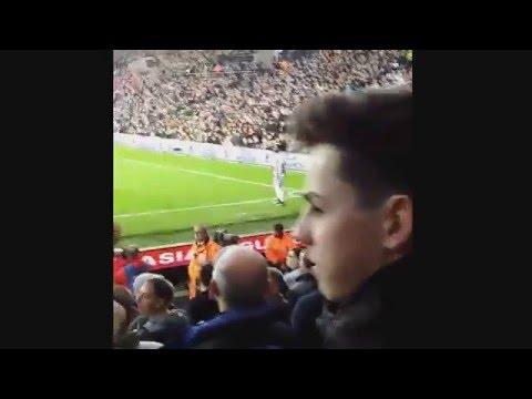Newcastle fans get their revenge on Stephane Sessegnon