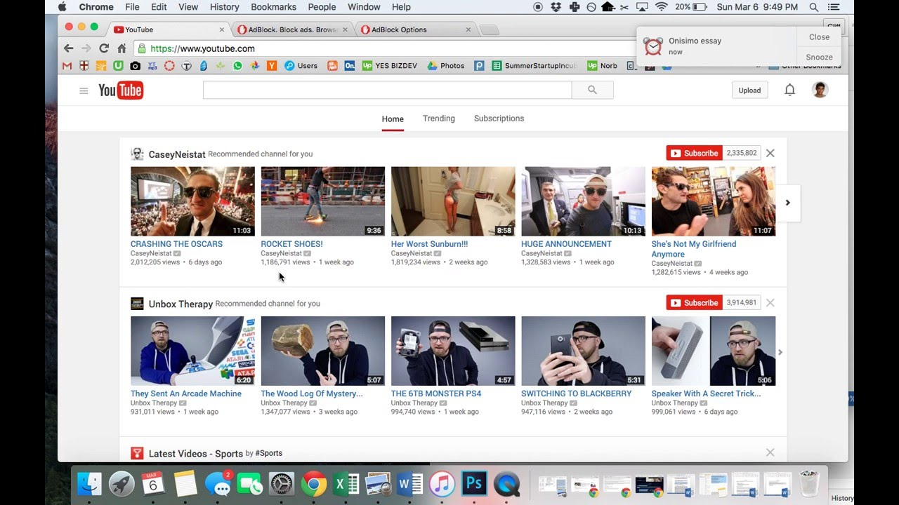 Remove YouTube Suggestions \u0026 Avoid Distractions - YouTube