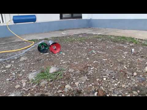 Klakson Lokomotif PVC CC 206 Dexible test