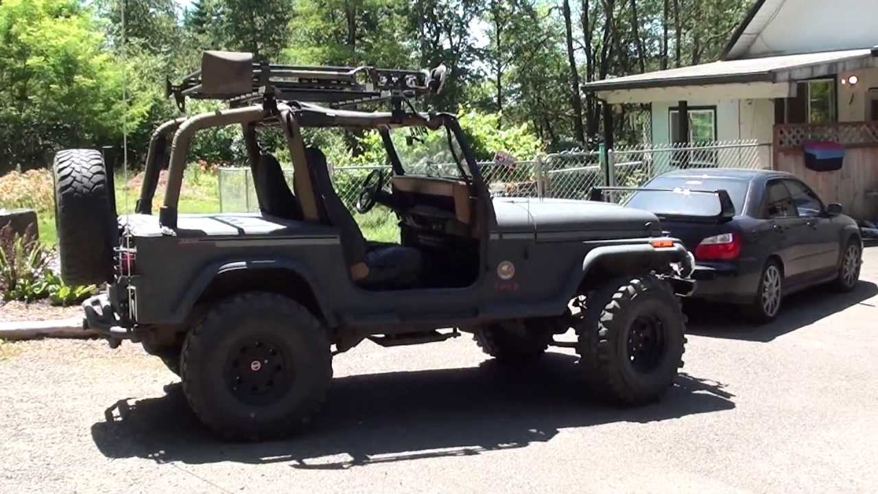 my 1995 jeep yj top off youtube. Black Bedroom Furniture Sets. Home Design Ideas