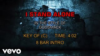 Godsmack - I Stand Alone (Karaoke)