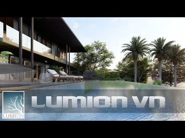 HP Resort Tropical style | Sketchup and lumion.