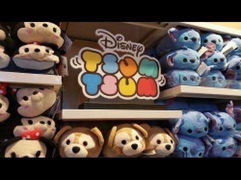 Shopping for Disney Tsum Tsum in Disney Springs WDW!