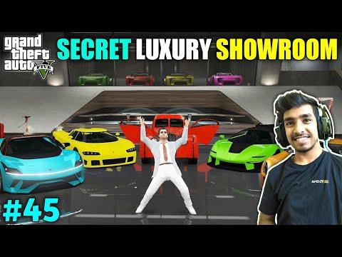 MY SECRET LUXURY CAR SHOWROOM   GTA V GAMEPLAY #45