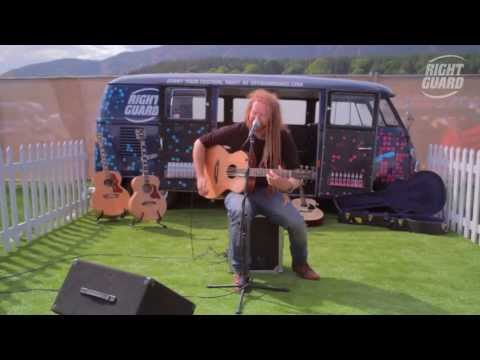 Newton Faulkner - Teardrops - exclusively for OFF GUARD GIGS - Live at RockNess 2013