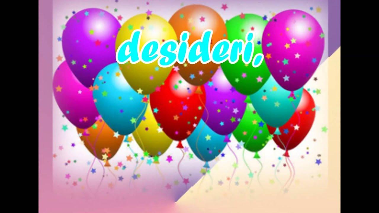Famoso Buon compleanno Andrea x yt - YouTube ZS12