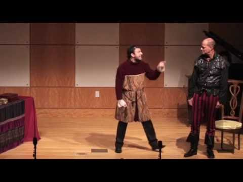HATH NOT A JEW EYES? - THE MERCHANT OF VENICE - SHYLOCK's Monologue By DAVID SERERO