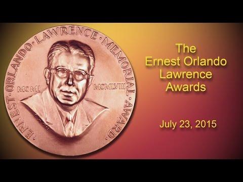 The 2014 Ernest Orlando Lawrence Award Ceremony