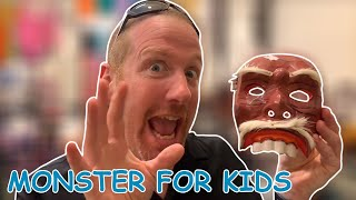 Monster Mask for Kids | English for children with Steve and Maggie