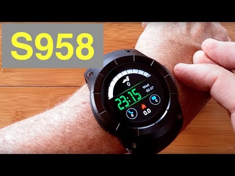 SENBONO S958 Multi-Function GPS Sports Fitness Tracker Smartwatch: Unboxing & Review