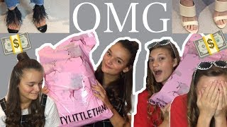 WE BOUGHT EACH OTHER OUTFITS *WTF