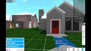 roblox bloxburg house build 4k-10k starter house part 1