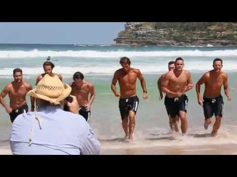 Bondi Lifeguards Calendar 2016 - Behind The Scenes - Mojo Downunder