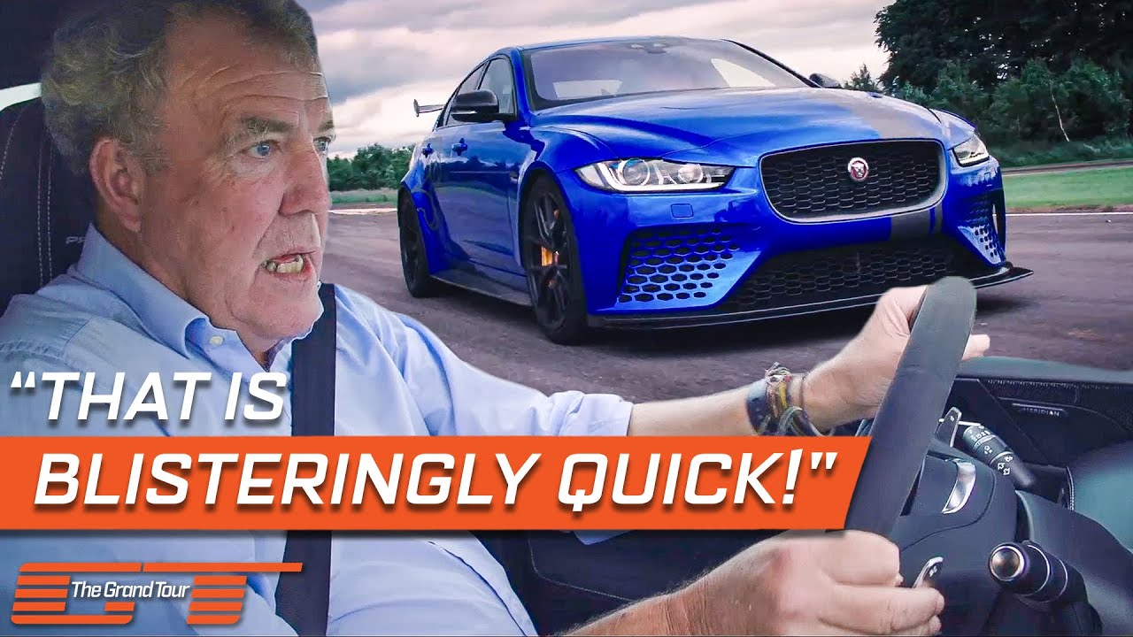Jeremy Clarkson Tests The New VS Old Jaguar XE   The Grand Tour
