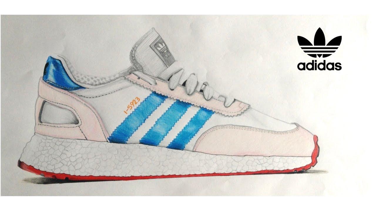 Mira Tenis Iniki Cómo Dibujar Unos Adidas 80nwPkXO