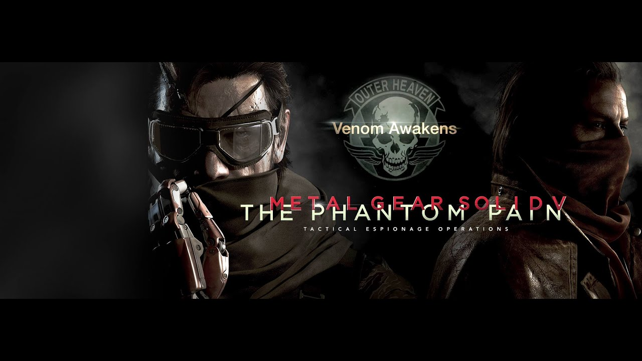 metal gear solid the phantom pain e3 cinematic trailer