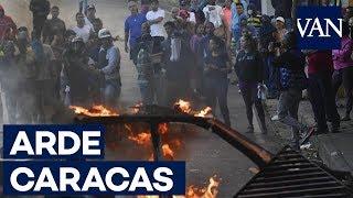 Protesta contra Maduro en varias zonas de Caracas