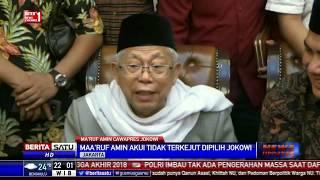 Download Video Ma'ruf Amin Tak Terkejut Dipilih Jadi Cawapres Jokowi MP3 3GP MP4
