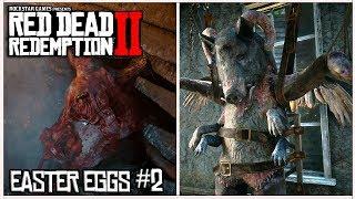RED DEAD REDEMPTION 2 - Secretos & Easter Eggs #2 | Mutante, UFO Aliens, Meteorito + UBICACIÓN