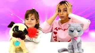 Игры для девочек - Чей питомец лучше? - Интерактивные игрушки Furreal.