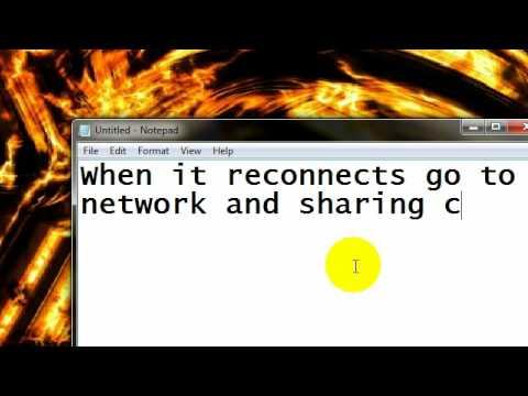 windows 7 how to change ip address
