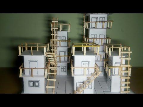 DIY | Mini buildings