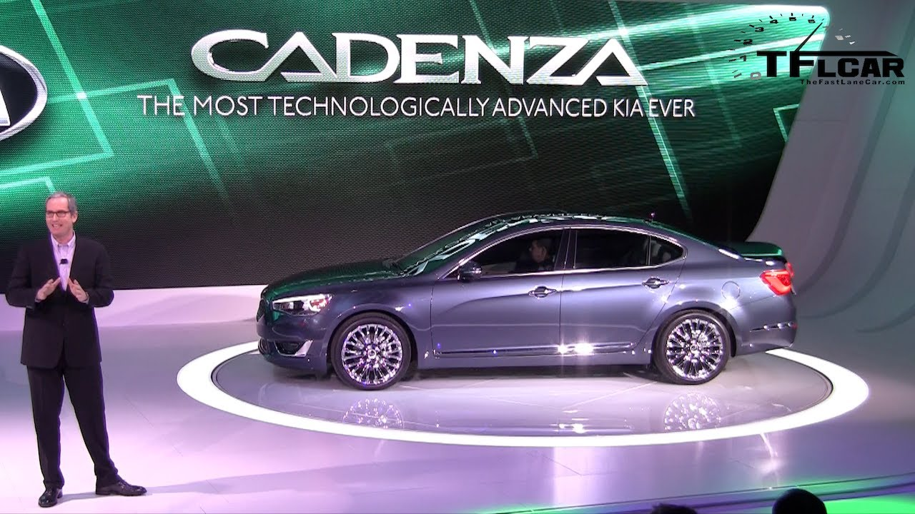 Watch the 2014 KIA Cadenza Debut at the Detroit Auto Show