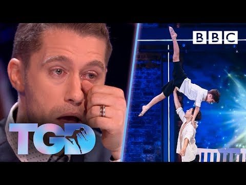Only-child Matthew moved to tears by brotherly James and Oliver - The Greatest Dancer | Auditions