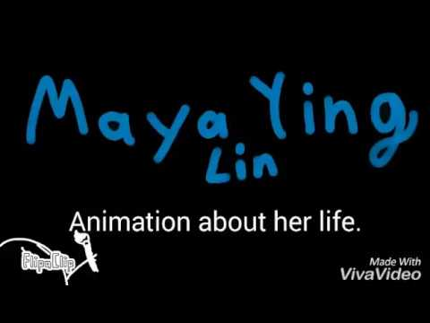 A school project for more credit. Maya Lin animation