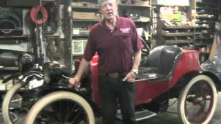 Preparing the 1914 Saginaw Cyclecar to Drive